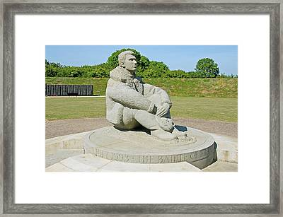 Battle Of Britain Memorial Framed Print by Chris Thaxter