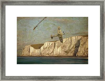 Battle Of Britain Over Dover Framed Print