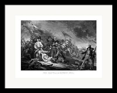 Siege Of Boston Framed Prints