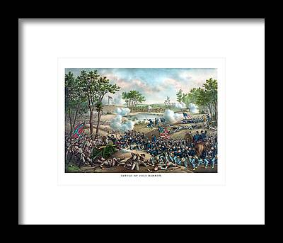Battlefield Framed Prints