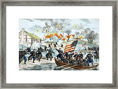 Battle Of Fredericksburg, 1862 Framed Print by Science Source