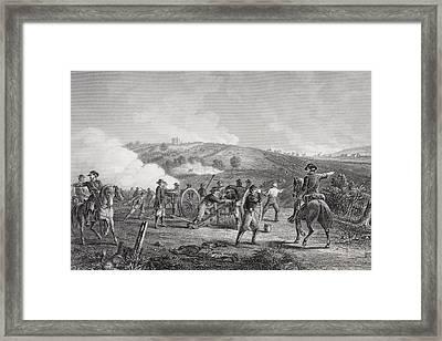 Battle Of Gettysburg Pennsylvania Framed Print by Vintage Design Pics