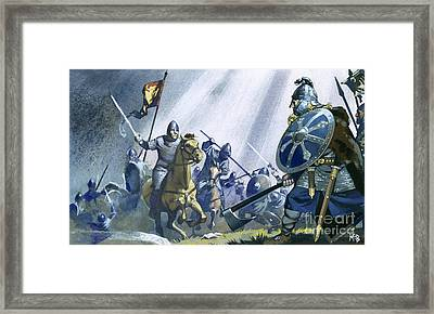 Battle Of Hastings Framed Print