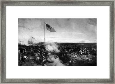 Battle Of New Orleans Framed Print