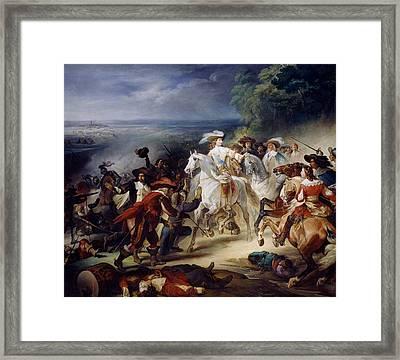 Battle Of Rocroy Framed Print