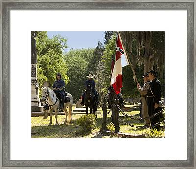 Battle Of Selma - Color Framed Print by Fred Baird