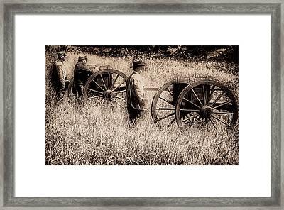Battle Ready - Gettysburg Framed Print by Bill Cannon