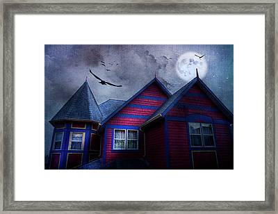 Battle Street West Framed Print by Theresa Tahara