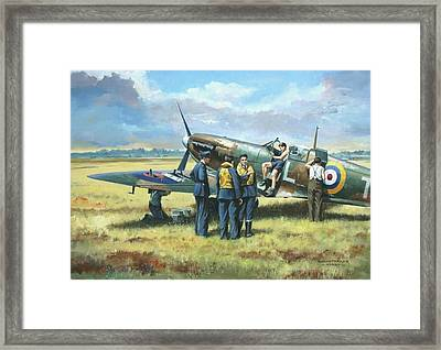 'battle Tactics' Framed Print