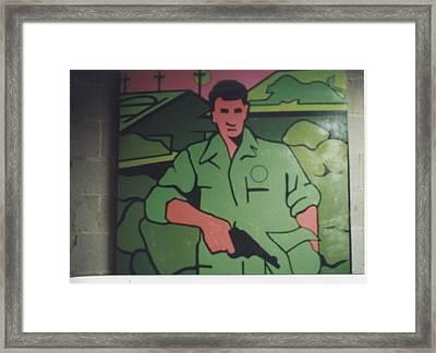 Battle Veteran Framed Print by James Larson