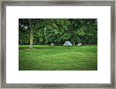 Battlefield Camp 2 Framed Print