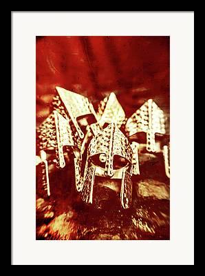 Bloody Battle Framed Prints