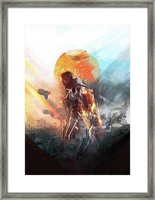 Battlefield Poster Framed Print