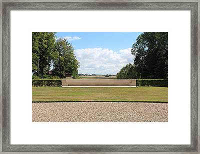 Historic View Framed Print