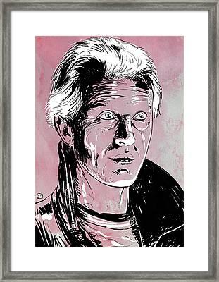 Batty From Blade Runner Framed Print by Giuseppe Cristiano
