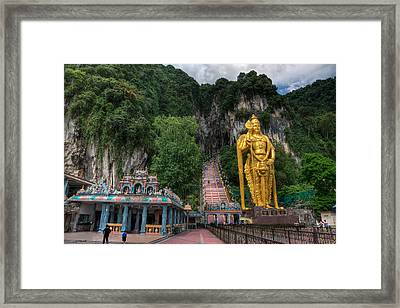 Batu Caves Framed Print by Adrian Evans