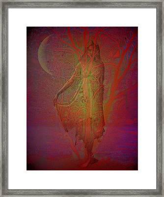 Baumwesen Framed Print