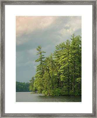Bauneg Beg Framed Print