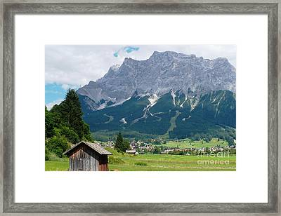 Bavarian Alps Landscape Framed Print by Carol Groenen