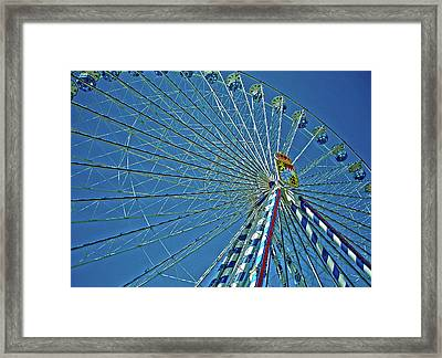 Bavarian Fairy Wheel Framed Print by Juergen Weiss