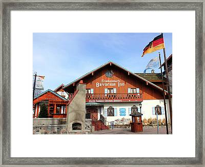 Bavarian Inn Frankenmuth Michigan Framed Print