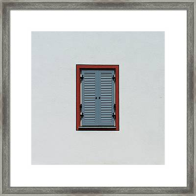 Bavarian Windows 5 Framed Print