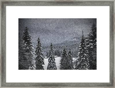 Bavarian Winter's Tale I Framed Print by Melanie Viola