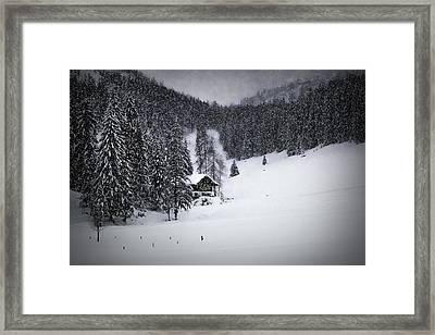 Bavarian Winter's Tale Ix Framed Print by Melanie Viola