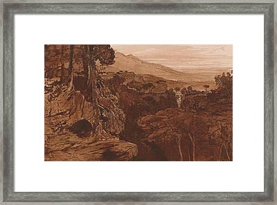 Bavella, Corsica Framed Print