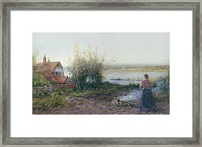 Bawdsey Ferry Framed Print
