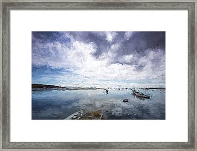 Bay Area Boats IIi Framed Print