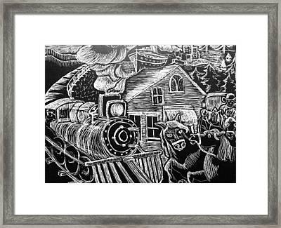 Bay Area Framed Print by Valera Ainsworth