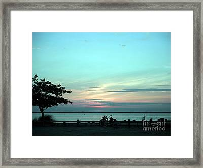 Bay Breeze Framed Print by Susan Carella