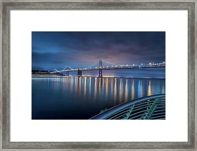 Bay Bridge Blues Framed Print