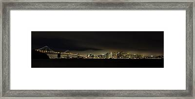 Bay Bridge San Francisco Framed Print