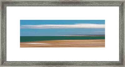 Bay Cloud Framed Print