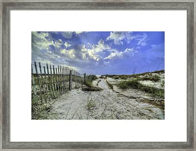 Bay County Beaches Framed Print by JC Findley