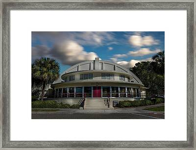 Bay Front Community Center Framed Print
