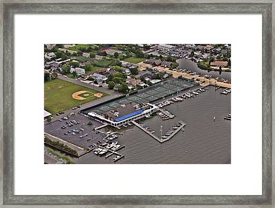 Bay Head Yacht Club Barnegat Bay New Jersey Framed Print by Duncan Pearson