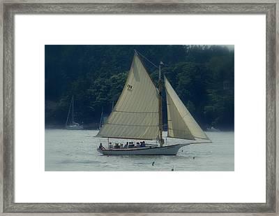 Bay Lady Framed Print by Lois Lepisto