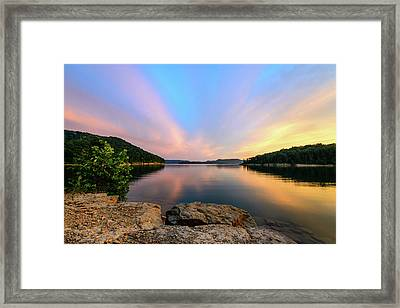 Bay Light Framed Print