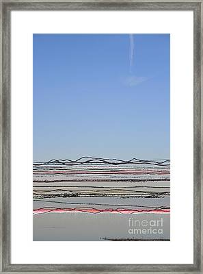 Bay Lines Framed Print by Andy  Mercer