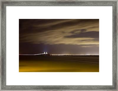 Bay Framed Print by Nicholas Evans