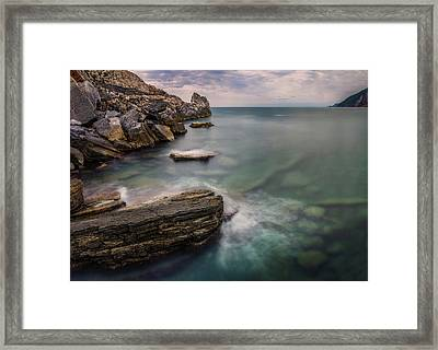 Bay Of The Gulf Of Poets Framed Print