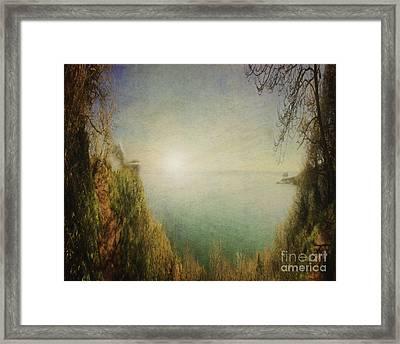 Bay Of Tor Framed Print by Edmund Nagele