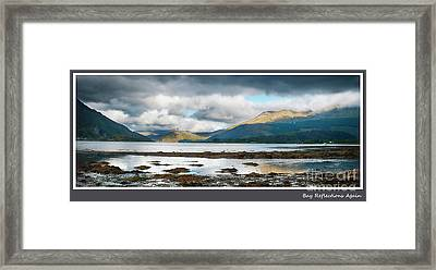 Bay Reflections Again Framed Print by Wendy Wilton