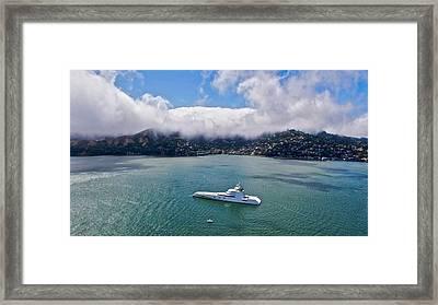 Bay Scape Framed Print by Steven Lapkin