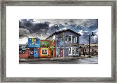 Bay Street Morning Framed Print