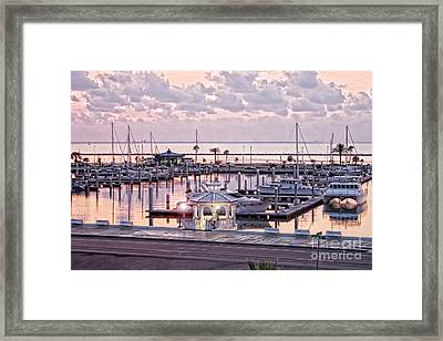 Bay Sunrise Framed Print