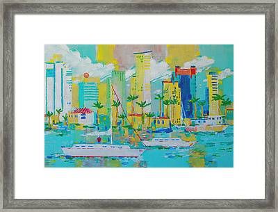 Bay View Framed Print